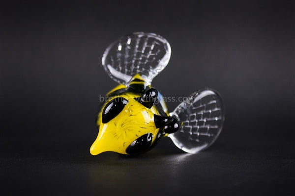 Chameleon Glass Heady Honey Bee Hand Pipe - Brothers with Glass - 1