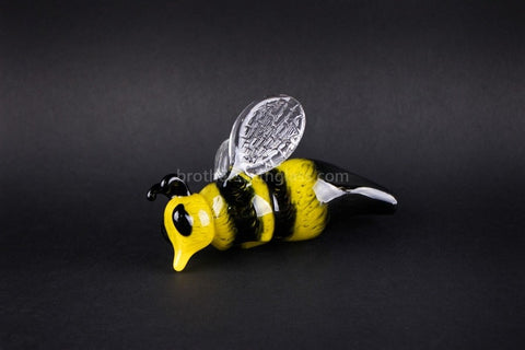 Chameleon Glass Heady Honey Bee Hand Pipe - Brothers with Glass - 2