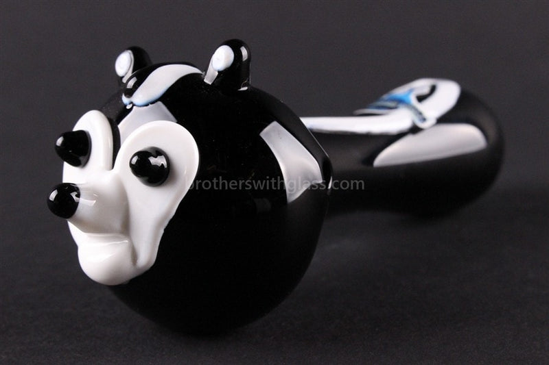 Chameleon Glass Heady Hand Pipe - Pepe The Skunk - Brothers with Glass - 1