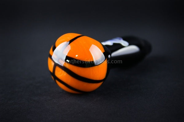 Chameleon Glass Hoops Basketball Hand Pipe - Brothers with Glass - 1