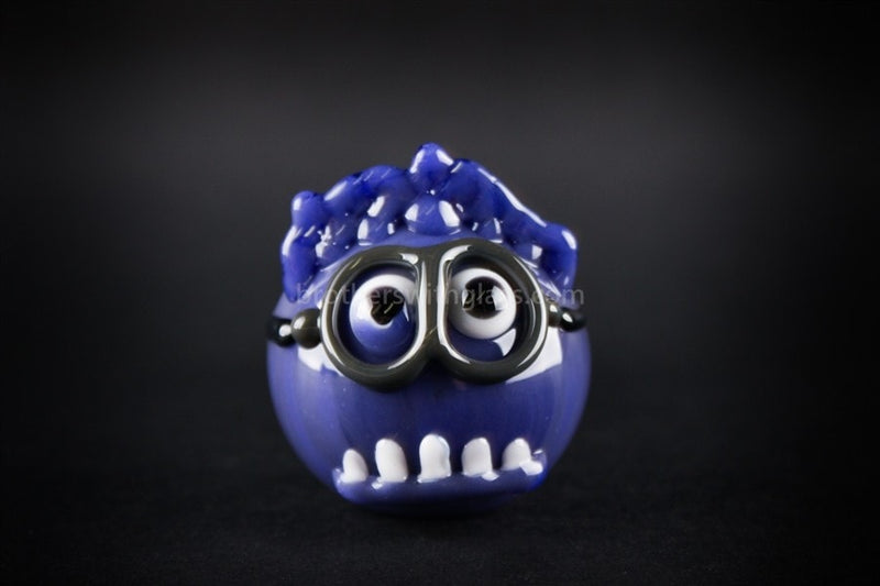 Chameleon Glass Evil Minion Hand Pipe - Brothers with Glass - 3