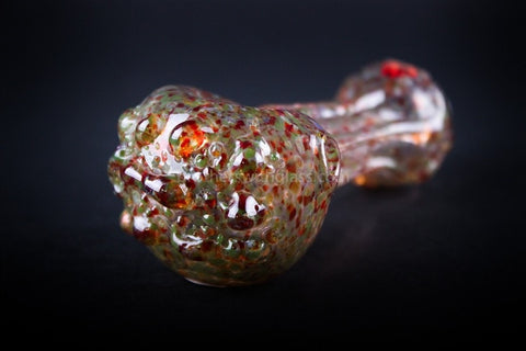 Chameleon Glass Ectoplasm Hand Pipe - Pink - Brothers with Glass - 1