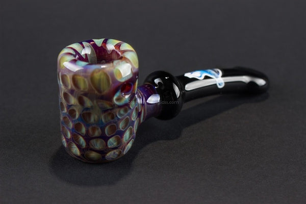 Chameleon Glass Traditional Style Cobb Hand Pipe - Blue Dream - Brothers with Glass - 1