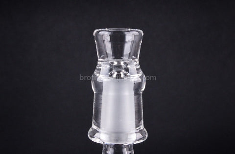 Chameleon Glass Clear Female Slide - 14mm - Brothers with Glass - 1