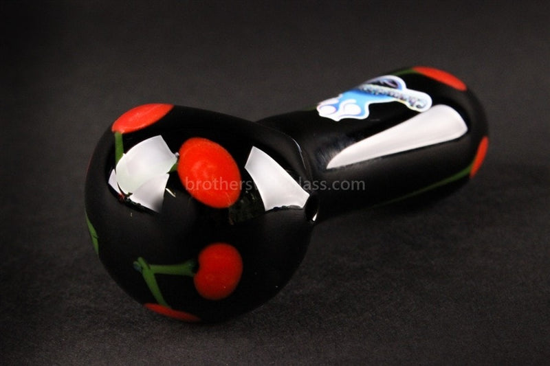 Chameleon Glass Black Cherry Hand Pipe - Brothers with Glass - 1