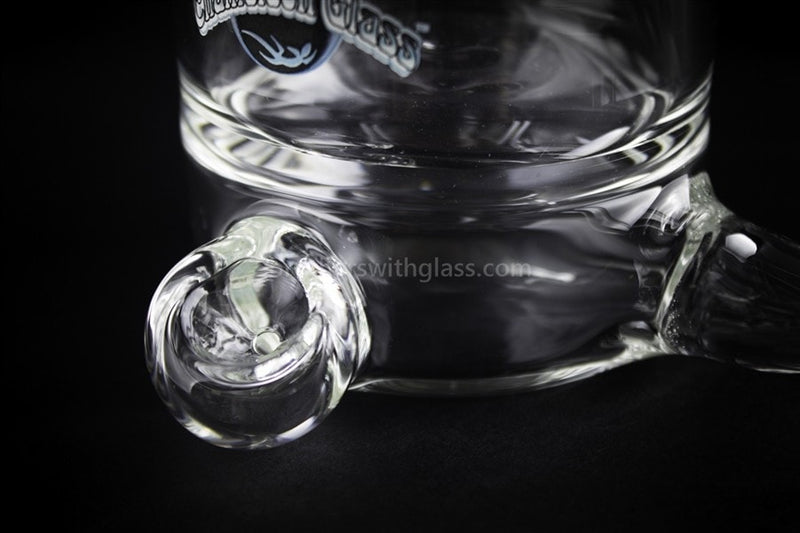Chameleon Glass Clear Coffee Mug Hand Pipe - Brothers with Glass - 4
