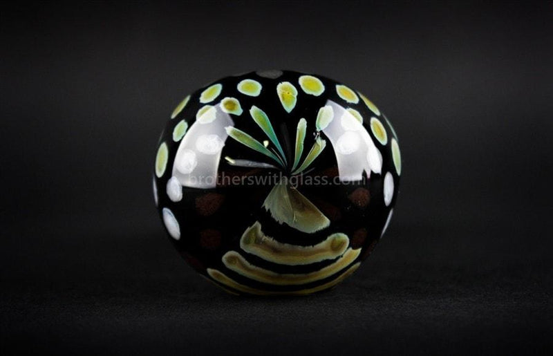 Chameleon Glass Safari Series Hand Pipe - Reptilian - Brothers with Glass - 3