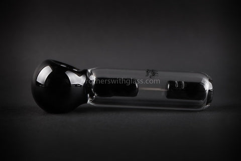 Chameleon Glass Spill Proof Jr Monsoon Spubbler Water Pipe - Black - Brothers with Glass - 1