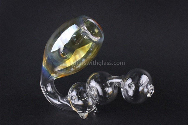 Chameleon Glass Sax O Phoon Fumed Sherlock Hand Pipe - Brothers with Glass - 1