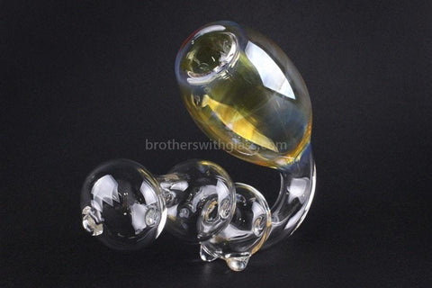 Chameleon Glass Sax O Phoon Fumed Sherlock Hand Pipe - Brothers with Glass - 2
