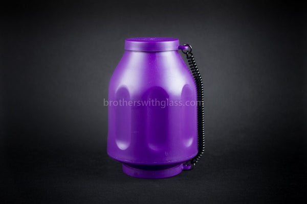 Smokebuddy Personal Smoking Air Filter - Purple - Brothers with Glass