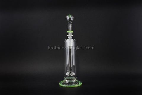 Treehouse Glass Color Wrap Showerhead Bubbler Water Pipe - Slyme - Brothers with Glass - 2