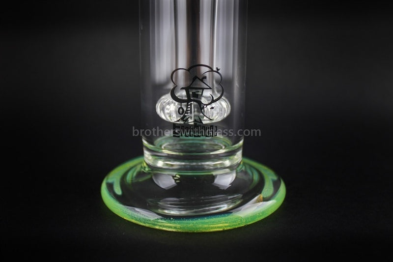 Treehouse Glass Color Wrap Showerhead Bubbler Water Pipe - Slyme - Brothers with Glass - 3