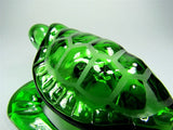 Green Sea Turtle Glass Pipe - Brothers with Glass - 4