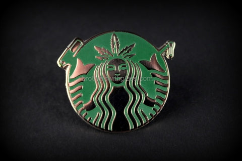 Dabuccino Dabarista Official Hat Pin - Brothers with Glass - 1