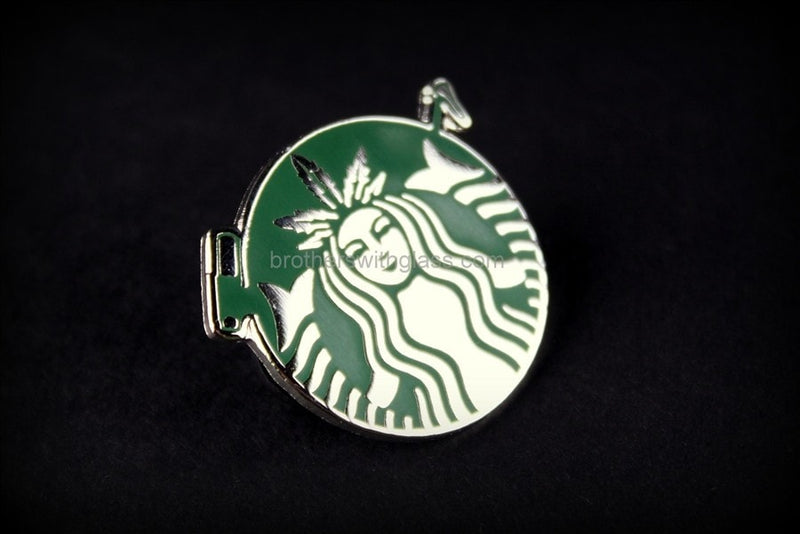 Dabuccino Dabarista Official Hat Pin - Brothers with Glass - 2