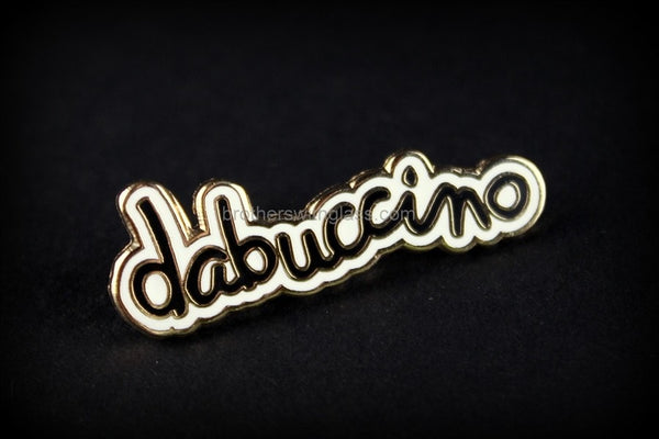 Dabuccino Script Official Hat Pin - Brothers with Glass - 1