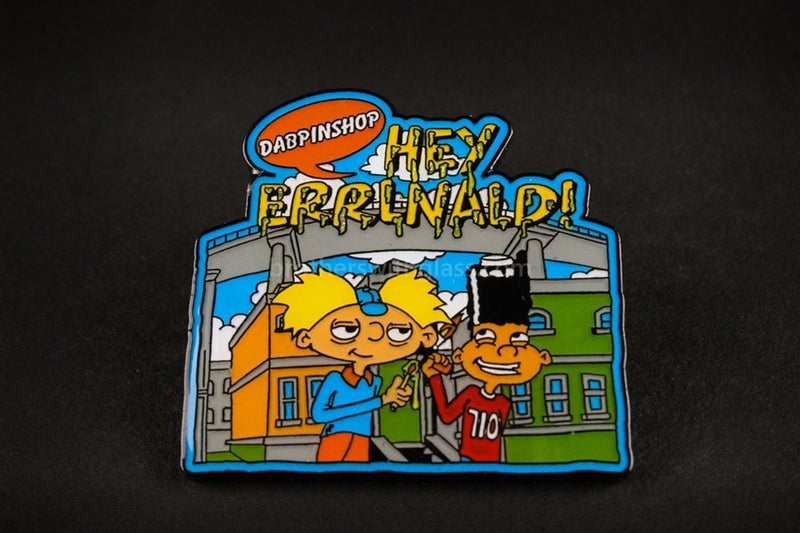DabPinShop Pin - Hey Errnald - Brothers with Glass - 1