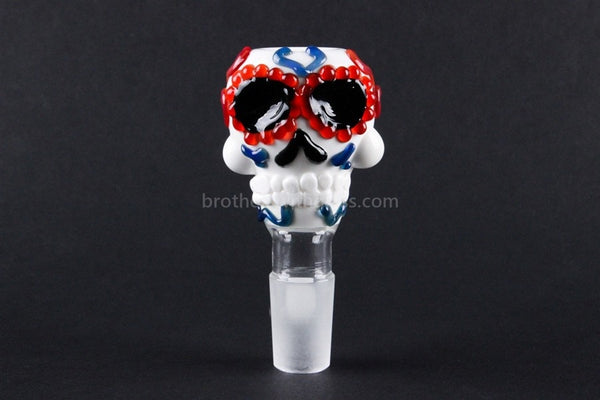 Greenlite Glass 18mm Replacement Character Slide - Sugar Skull - Brothers with Glass - 1