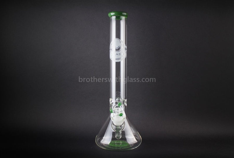 HVY Glass 50mm Large Joint and Wide Mouth Beaker - Green - Brothers with Glass - 2