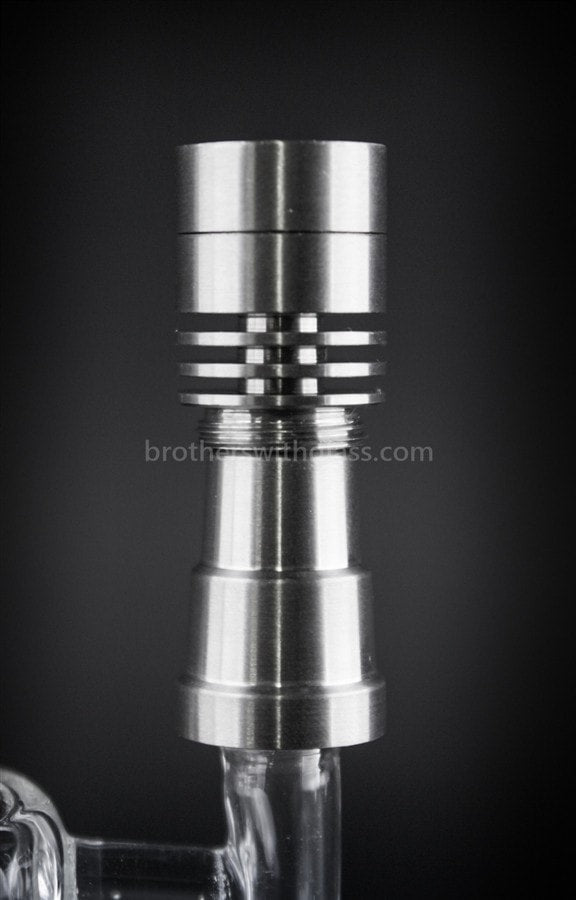 Happy Daddy Titanium Genesis Micro Nail - Brothers with Glass - 3