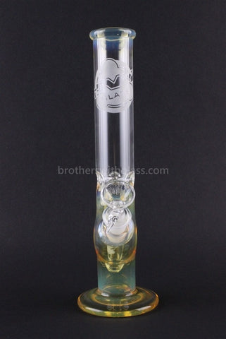 HVY Glass 10 Inch Curve Water Pipe - Fumed - Brothers with Glass - 2