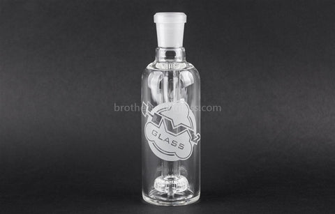 HVY Glass 45 Degree 18/18mm Showerhead Ash Catcher - Brothers with Glass - 2