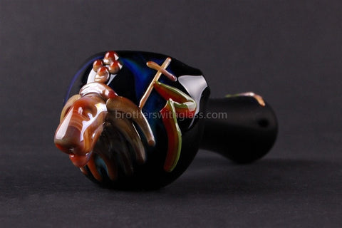Greenlite Glass Rasta Lion Hand Pipe - Brothers with Glass - 1