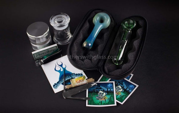 BWG Smoker Kit 1 - Brothers with Glass