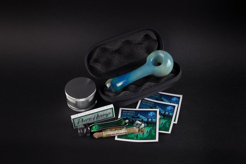 BWG Smoker Kit 2 - Brothers with Glass