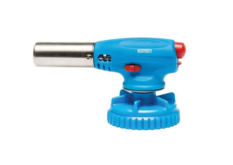 Newport Zero Butane Torch Head - Blue - Brothers with Glass