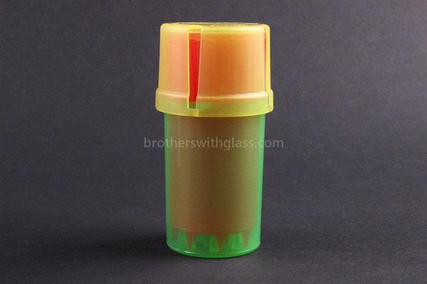 MedTainer Storage Grinder Airtight Container Stash Jar - Brothers with Glass - 2