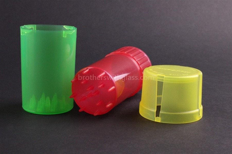 MedTainer Storage Grinder Airtight Container Stash Jar - Brothers with Glass - 3