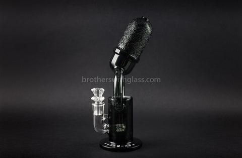 Mathematix Glass Old School Microphone Water Pipe - Brothers with Glass - 1