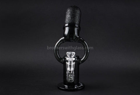 Mathematix Glass Old School Microphone Water Pipe - Brothers with Glass - 2