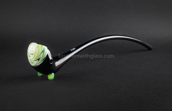 Mathematix Glass 14 In Black Gandalf Pipe - Slyme - Brothers with Glass - 1