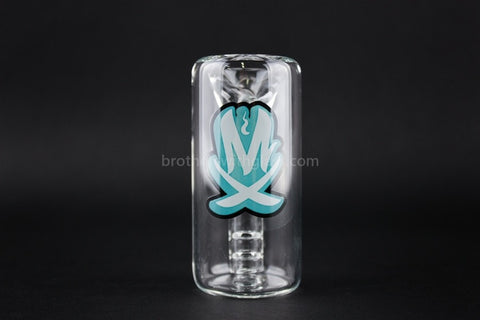 Mathematix Glass 14mm 45 Degree Diffused Ash Catcher - Brothers with Glass - 2