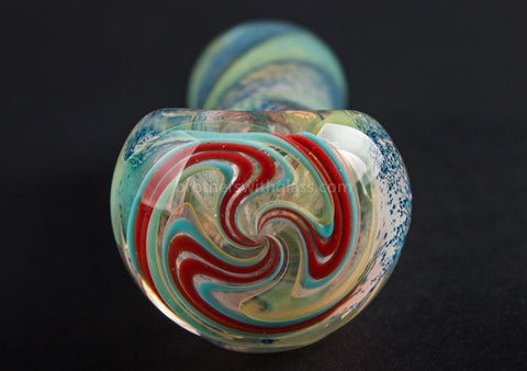 Nebula Glass Phantom Hand Pipe - Brothers with Glass - 2