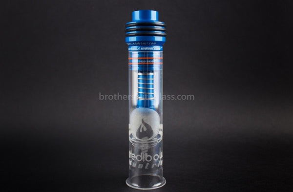 Incredibowl Industries I420 Hand Pipe - Blue - Brothers with Glass - 1