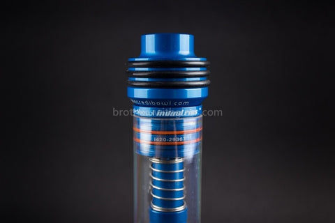 Incredibowl Industries I420 Hand Pipe - Blue - Brothers with Glass - 2