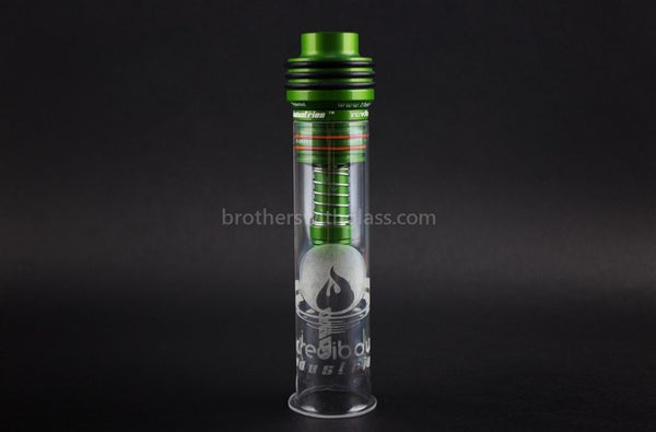 Incredibowl Industries I420 Hand Pipe - Green - Brothers with Glass - 1