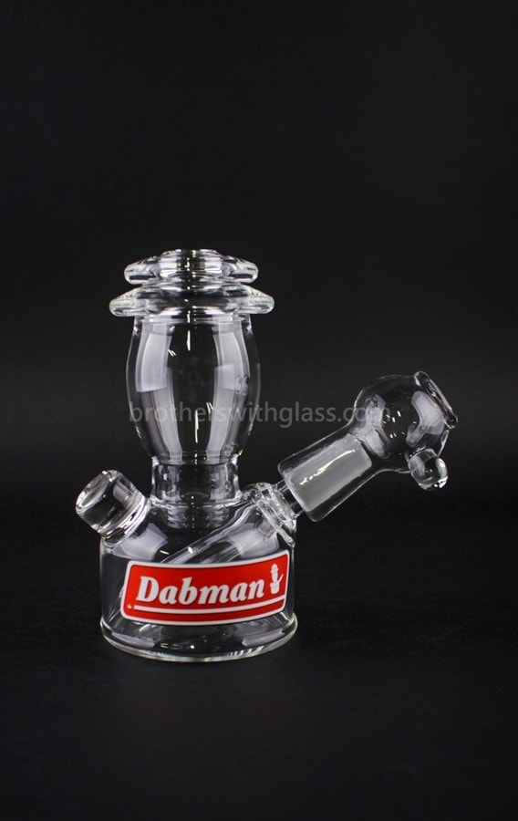Realazation Glass Clear Dabman Lantern Dab Rig - 10mm - Brothers with Glass - 1
