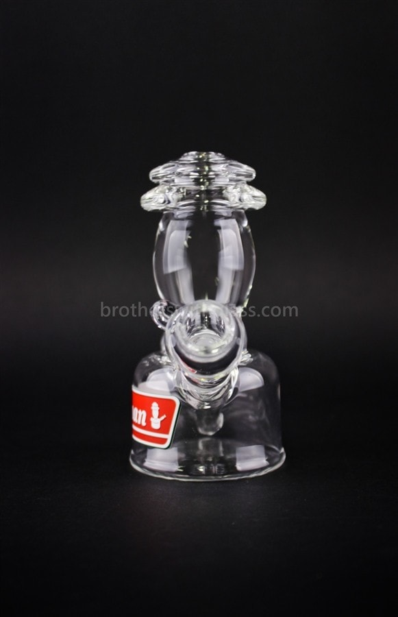 Realazation Glass Clear Dabman Lantern Dab Rig - 10mm - Brothers with Glass - 2