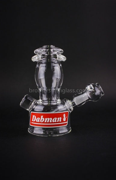 Realazation Glass Clear Dabman Lantern Dab Rig - 14mm - Brothers with Glass - 1