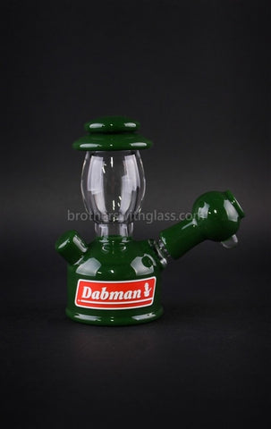 Realazation Glass Treehugger Green Dabman Lantern Dab Rig - 10mm - Brothers with Glass - 1