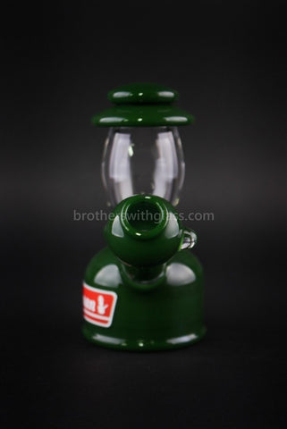 Realazation Glass Treehugger Green Dabman Lantern Dab Rig - 10mm - Brothers with Glass - 2