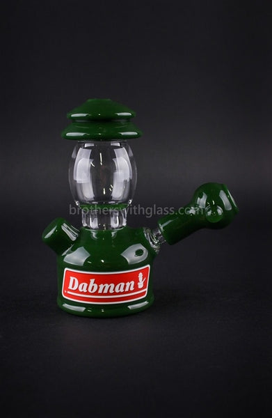 Realazation Glass Treehugger Green Dabman Lantern Dab Rig - 14mm - Brothers with Glass - 1