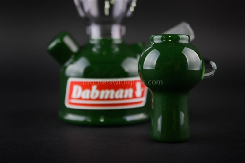 Realazation Glass Treehugger Green Dabman Lantern Dab Rig - 14mm - Brothers with Glass - 3