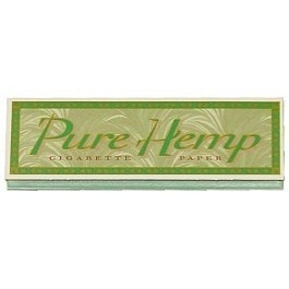 Pure Hemp 1 1/4 Rolling Papers - Brothers with Glass