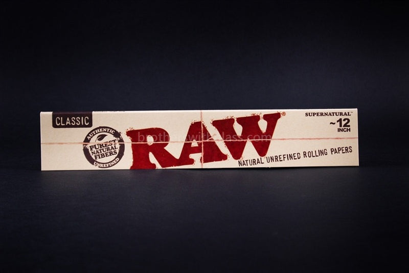 "Raw 100% Supernatural 12"" Rolling Papers - Brothers with Glass"